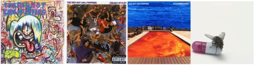 Red Hot Chili Peppers Album Covers